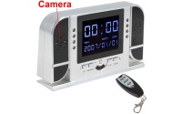 Spy Clock Camera Motion Detection Infrared Night Vsion Support PC Camera