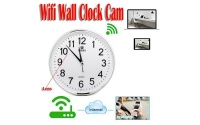 Wall Clock Hidden Camera Wifi 1080P Full Hd - USED